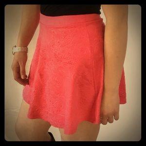 Aeropostale Pink Skater Skirt Size S
